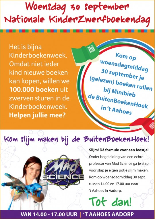 Nationale KinderZwerfboekendag